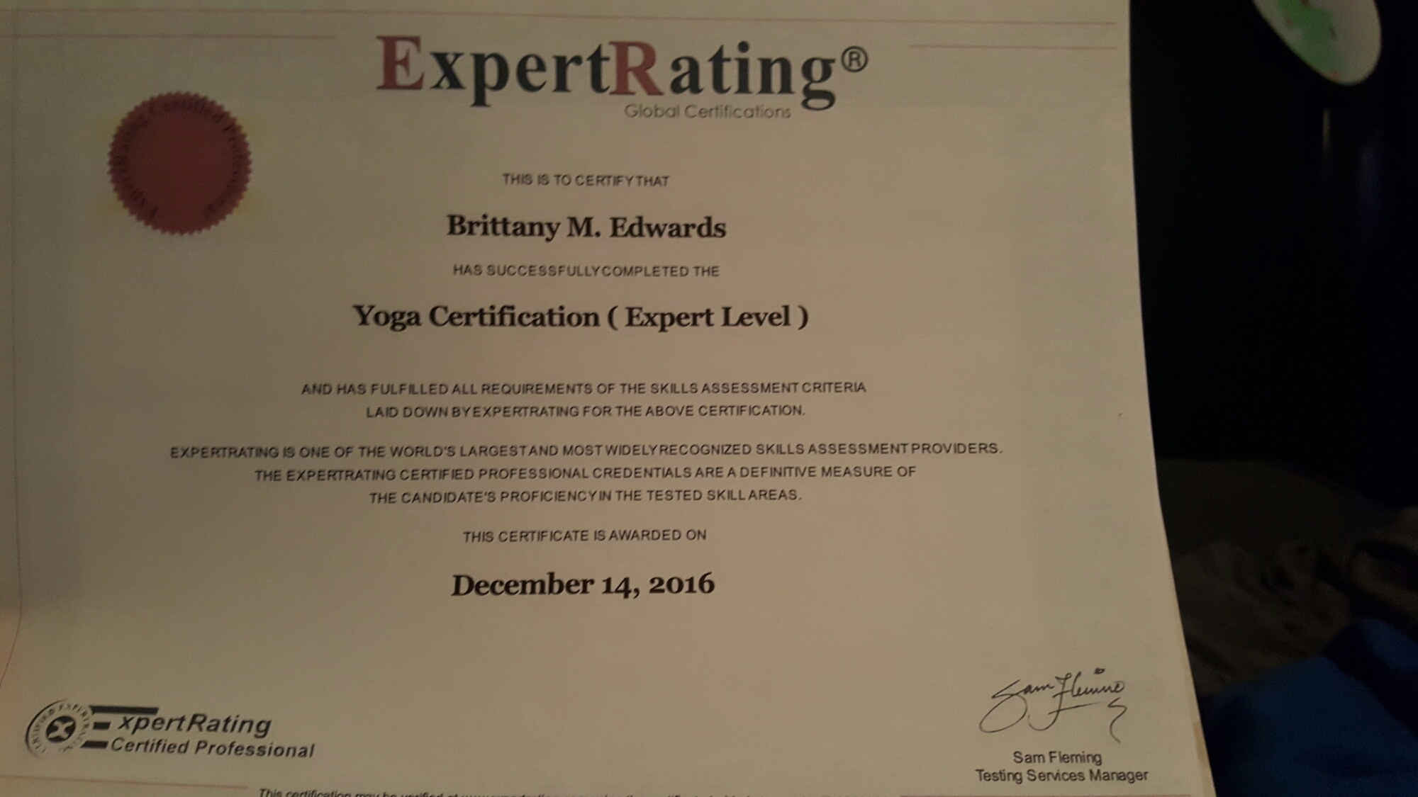 Yoga Certification Complete Bme Healthy Choices